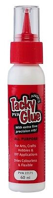 Anita's Tacky Glue 60ml, Ideal for Dolls House Miniatures
