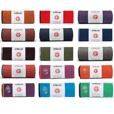 Manduka eQua Hand Towel Ultra Plush Super Absorbent Yoga Gym Fitness Hand Towel