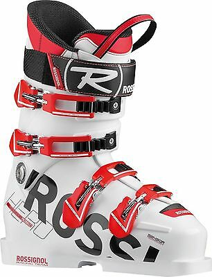 2015 Rossignol Hero World Cup Si 110 SC White/Red 24.5 Junior Ski Boots