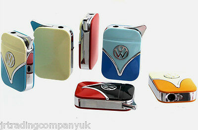 NEW Genuine Official VW Camper Van Metal Lighter GIFT BOXED.