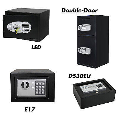 ZENY Digital Keypad Home Office Safe Electronic Security Gun Cash Box Steel