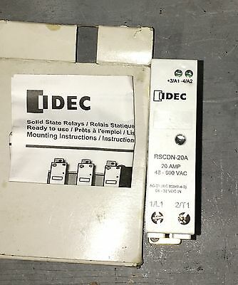 New Idec RSCDN-20A Solid State Relay