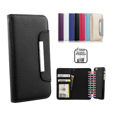 Premium Magnetic Flip Leather Wallet Case Cover for Apple iPhone SE 5S 5