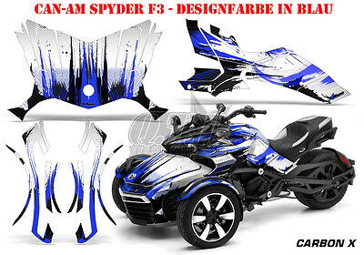 Amr Racing Dekor Graphic Kit Atv Can-Am Spyder Rs,rss, Rt,rt-S, F3  Carbon-X B