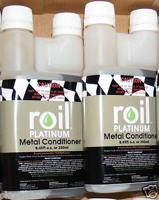 Roil Platinum METAL CONDITIONER 500ml Anti-Friction Engine Lubrication Treatment