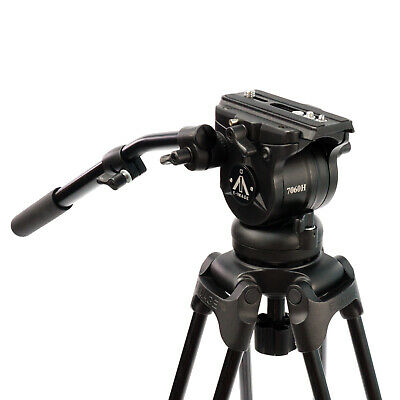 E-Image Professional Fluid Head with Variable Counter-Balance & 75mm Ball Base