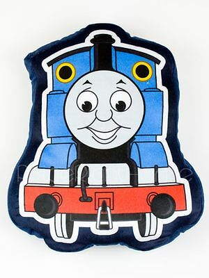 Thomas The Tank Engine Express Shaped Plush Cushion Blue Kids Official Free P+P