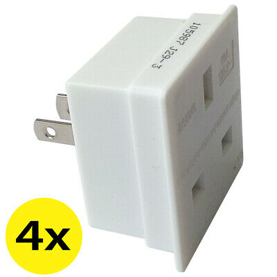 UK to US USA American Canada Jamaica Thailand Taiwan Travel Plug Adapter Adaptor