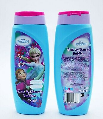 ** FROZEN MOISTURISING BATH & SHOWER BUBBLES 400ml NEW ** WASH SOAP KIDS