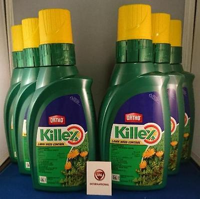 6  Bottles - Killex Weed Control-Concentrate-1 Litre