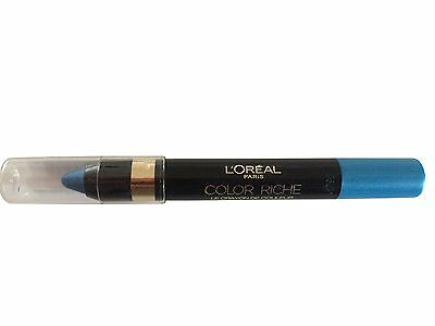 L´Oreal Lidschatten Eyeshadow Color Riche Pen Neu 12 Ocean Blue loreal