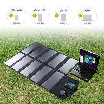 18V 60W Pour Pc - Chargeur Solaire - Outdoor Solar Charger Extrem Condition