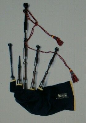Available RGHardie Henderson McCallum full set highland bagpipes small pipe