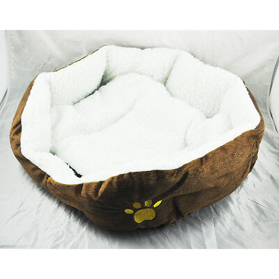 Luxury Unique Warm Indoor Soft Pet Dog Cat Bed + Cushion Dog Sofa House Bed HY
