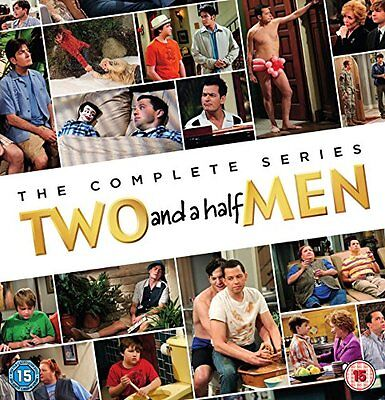 Two and a Half Men complete Season 1+2+3+4+5+6+7+8+9+10+11+12 DVD Box Set DENT