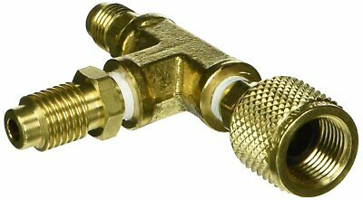"""Yellow Jacket 36018 1/2"""" Pump Adapter w/ 1/4"""" Flare And 1/2"""" Acme Male Fittings"""