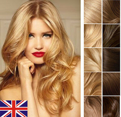 """Best Quality 16"""" 18"""" 20""""  Tape In Premier Human Hair Extensions UK fast delivery"""