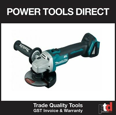 New Makita 18V 18 Volt Cordless Brushless Dga504Z 125Mm Angle Grinder Skin