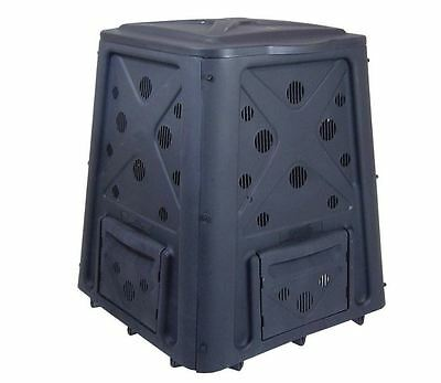 Redmon 65 gal Stationary Compost  Trash Recyle Green Plastic Resin Bin Composter