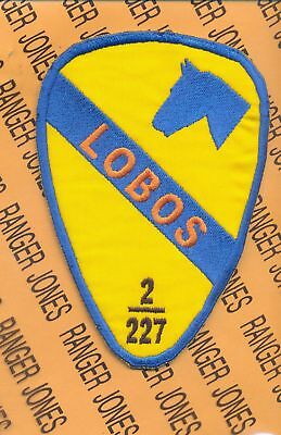 2-227 LOBOS Aviation 1st Cavalry Division patch