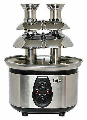 Koolatron Total Chef WTF-43 Stainless-Steel Double-Tower Chocolate Fountain