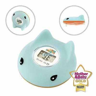 Brother Max Ray Baby Bath And Room Thermometer Blue