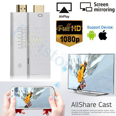 Miracast DLNA And IOS Wireless Wifi HDMI Dongle Screen Mirroring ALLShare Case