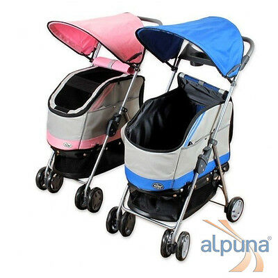 Chiens + Chats Buggy PACCO avec abnehmbararer Poche
