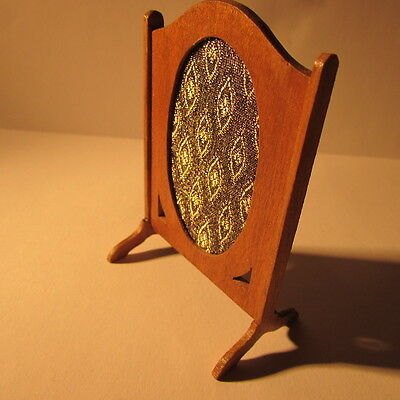 Dolls house miniature~Fire screen~ 1/12th scale