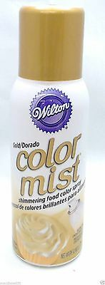 2 Wilton Gold Color Mist Shimmering Food Color Spray  710-5520