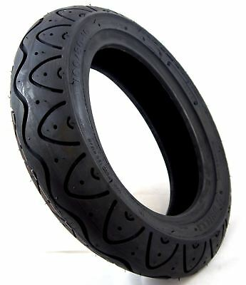 100/80-10 Black Mobility Scooter Tyre fits Royale 3 & 4 Rear Wheel