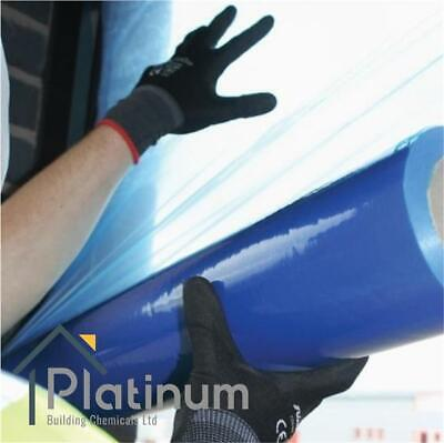 Window Protection Film / Glass Masking Protector Self Adhesive Cover - 100M Roll