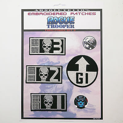 ROGUE TROOPER GI / BIOCHIP Patch Set (2000AD)- Iron-On Patch Mega Set #074