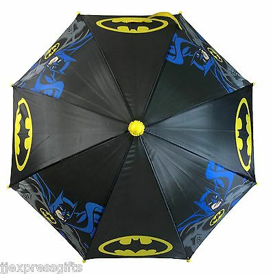 DC Batman Licensed Molded Handle Umbrella for Kids