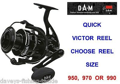 Dam Quick Victor Reel For Sea Coarse Fishing Mad Cat Catfish Spinning Rod Lures