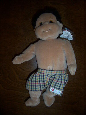 Retired Ty Beanie Kids Rascal Mint With Tags
