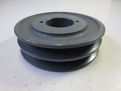 """New Morse 2Ak49H Double Groove Sheave Belt Pulley 1 1/2"""" Bore"""