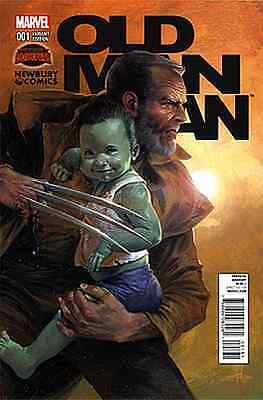 Old Man Logan 1 Rare Gabrielle Dell Otto Newbury Variant Nm Movie