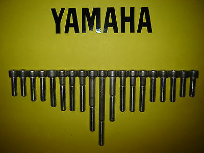 Yamaha RS100 RS125 DX RS125DX YB100 100cc Stainless SS Engine Allen Screw Kit