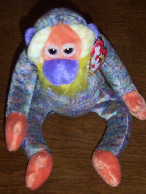 Retired Ty Beanie Baby Bananas The Orangutang Mint With Tags