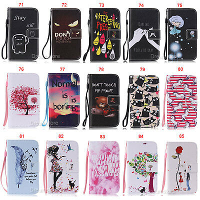 Bear Wallet Leather Flip Case Cover For Samsung S3 S4 S5 S6 Edge A5 J5 J7 Note 5