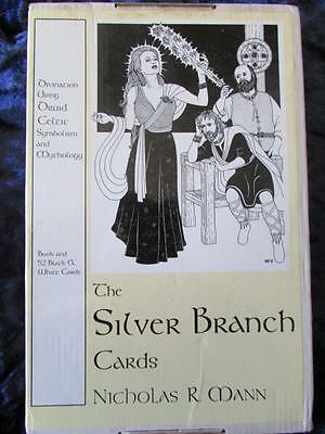 THE SILVER BRANCH CARDS. Druid Celtic Divination. Book and Cards