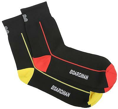 Boardman Mens Breathable Road Bike Cycle Cycling Ankle Socks 2 Pairs Pack L / XL