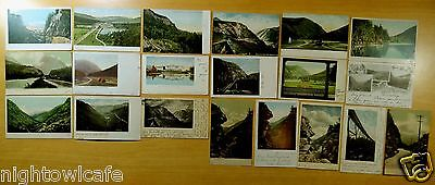 Lot of 20 Antique Postcards ALL CRAWFORD NOTCH, NH New Hampshire ALL UDB