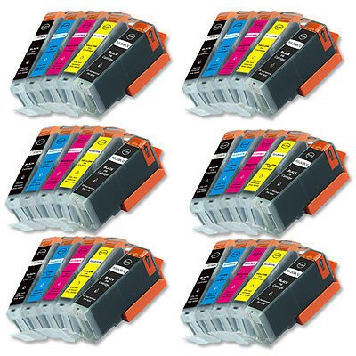 30 New Ink Combo Pack for Canon PGI-250 CLI-251 Pixma MG5622 MG6622 MG5522