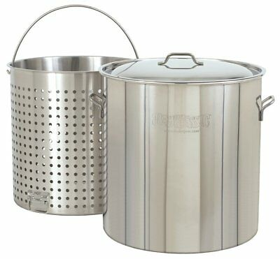 Bayou Classic 1102 102 Qt. Stainless Stockpot NEW