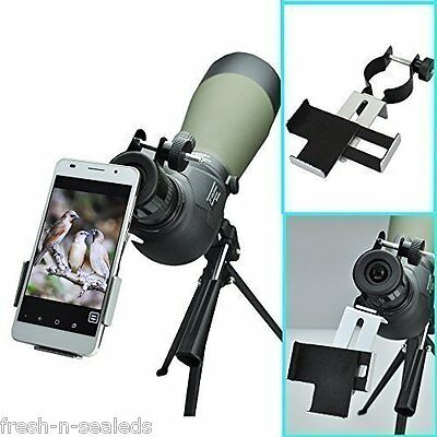 Universal Smart Phone Adapter Mount 38mm-50mm Binocular Spotting Scope Telescope