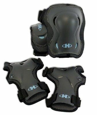 Hyper Silver Series Knee/Wrist Pads Black, Medium