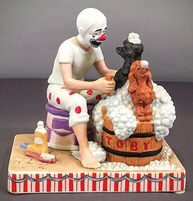 Toby The Clown Figurine In Cleanliness Is Next To Impossible By Ron Lee