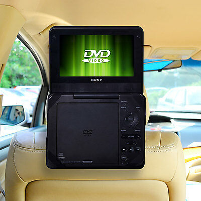 TFY Car Headrest Mount for 9 inch Non Swiel Portable DVD Player